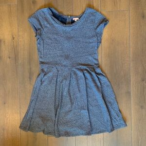 GAP Dresses - Gap Blue Zipper Back Fit & Flare Dress